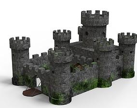 Medieval Castle 3D model VR / AR ready