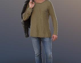 Simon 10077 - Walking Casual Guy 3D model