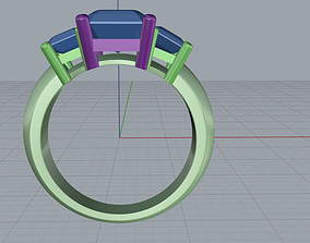 illustration Ring 3d print