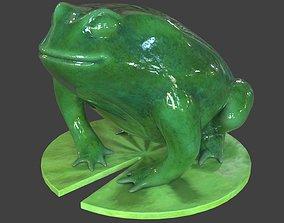 3D asset Toad Statue