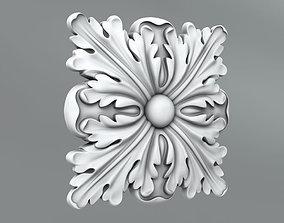 Square decoration 3D model