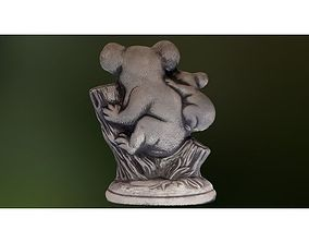3D printed modelling koala