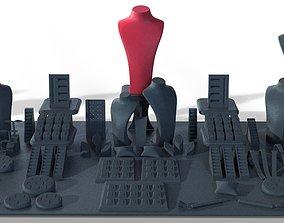 3D printable model Window Display Set