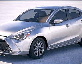Toyota Yaris sedan 2019 3D model