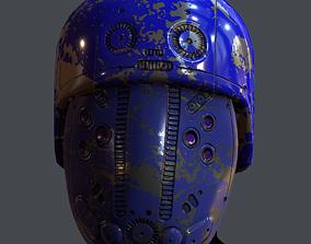 VR / AR ready Gas mask helmet 6