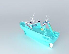 Trawler manufacturing 3D