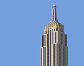 Empire State Building 3D print model