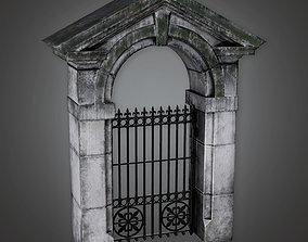 3D model Outdoor Gate 17 GFS - PBR Game Ready