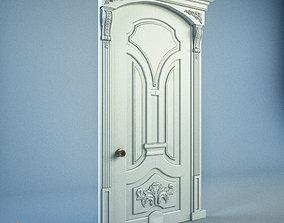 low classic door 3D