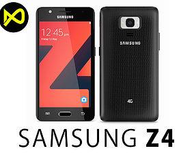 Samsung Z4 Black 3D model