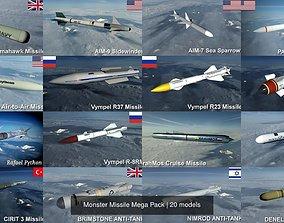 Monster Missile Mega Pack 3D