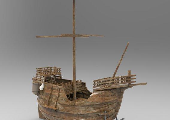 Small Santa Maria Boat