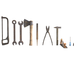 3D model Tools collection