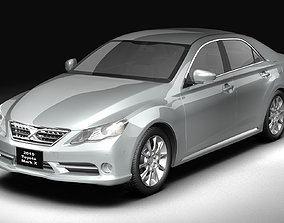 3D 2010 Toyota Mark X