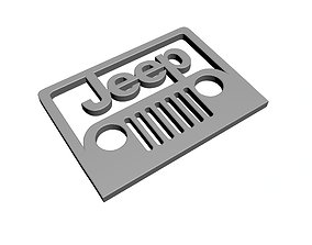 3D printable model Jeep Logo