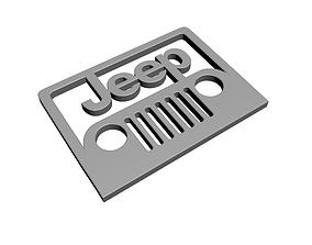 3D printable model Jeep Logo