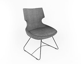 Atara wire chair 3D model