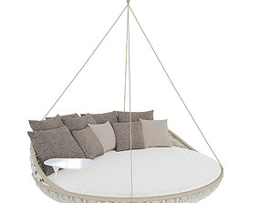 Dedon Swingrest Hanging Lounger 3D model