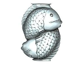 3D print model Fish ornaments