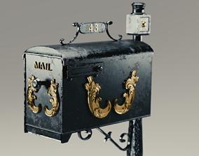 3D model PBR Mailbox