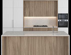 Modern kitchen with island 37 3D