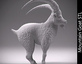 Mountain goat STL 3D print model