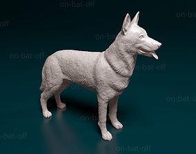 3D print model Czechoslovakian wolf
