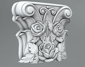 element 3D Pilaster Capitals