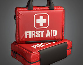 First Aid HPL - PBR Game Ready 3D model