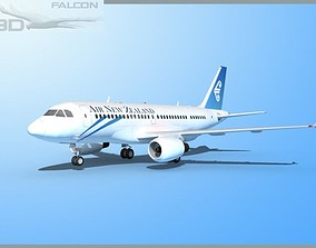 Falcon3D A319 Air New Zealand rigged