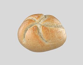 Bread Kaiser 3D Model Photoscan game-ready