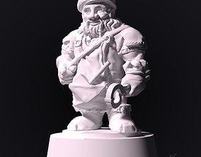 gnome blacksmith 3D printable model