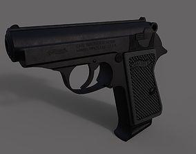Walther PPK Handgun 3D model