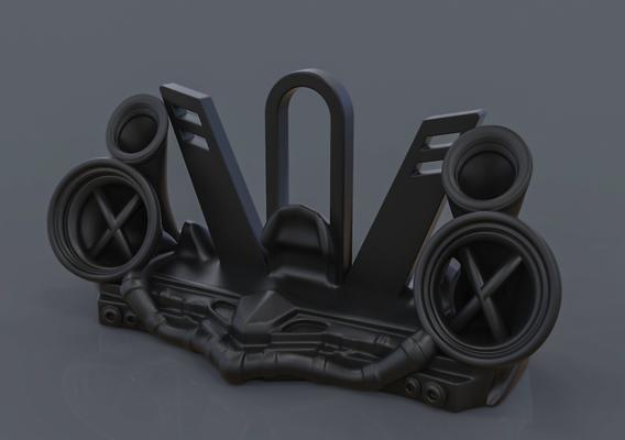 Punk Phone Stand/Display