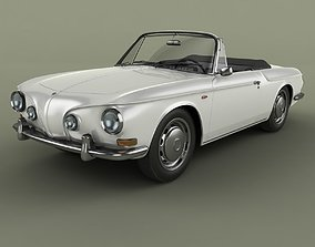 3D model Volkswagen Karmann Ghia Typ 34 Convertible