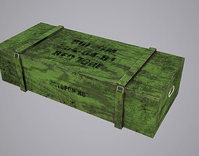 3D model Gun box