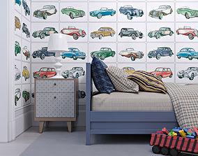 Interior Neoclassic Childrens Bedroom 01 3D model