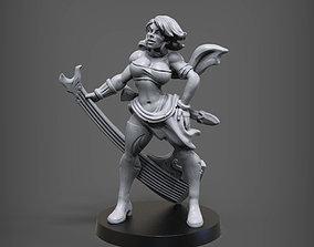 3D print model E Thea Wildancer