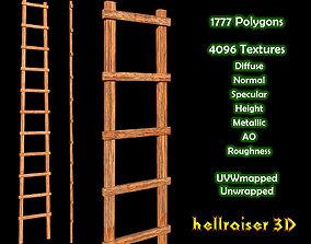 3D asset Ladder - Textured