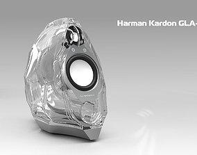 Harman Kardon GLA-55 speakers 3D model