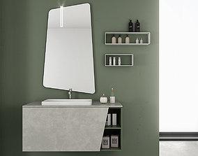 3D Bathroom furniture set Arcom eLy 3