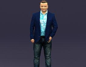 Cool jeans man 0422 3D printable model