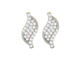 jwelery drops Women earrings 3dm render detail
