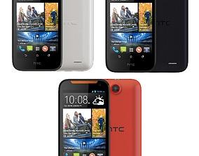 cellphone 3D model HTC Desire 310 all color