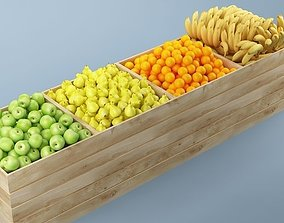 3D Store Fruits Stand 04
