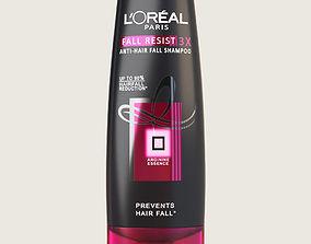 3D asset Loreal Shampoo Bottle