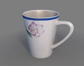 Tea Cup 3D model lightwave
