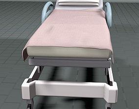 Hospital Bed 3D model furniture