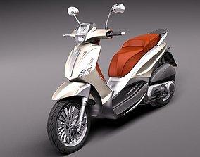 Piaggio bv tourer 300 2011 3D Model