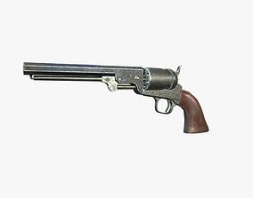 Colt Navy 1851 3D asset
